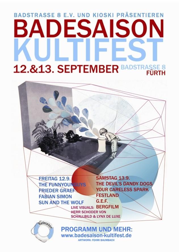 Badesaison Kultifest 2014